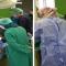 الاستاذ الدكتور قديح ابو القاسم قديح استشارى جراحة الماء الازرق بكندا بزيارة مستشفى العيون لإجراء بعض الكشوفات والعمليات الجراحية