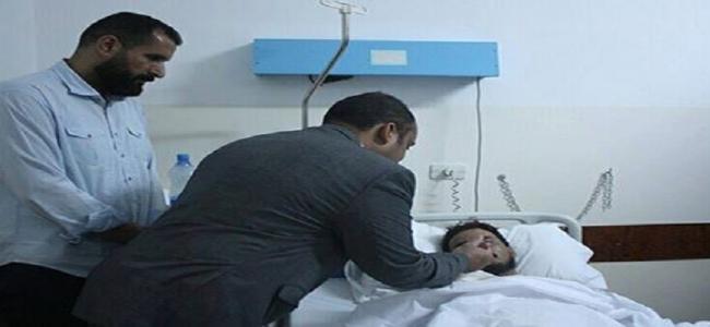وزير الصحة المفوض يتفقد أوضاع جرحى أحداث القرة بولي