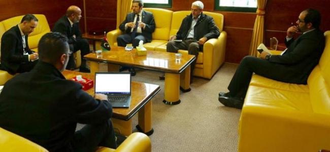 وزير الصحة يلتقي القائم بالأعمال في السفارة البريطانية لدى ليبيا