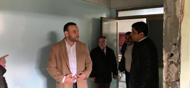 وكيل وزارة الصحة د . محمد هيثم يزور مركز الحروق والتجميل بطرابلس